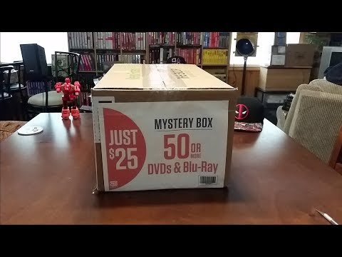 2nd & Charles $25 DVD & Blu-Ray Mystery Box unboxing!