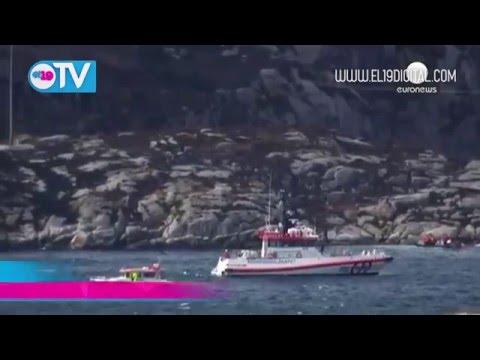 Accidente de helicóptero en Noruega con más de una decena de personas a bordo