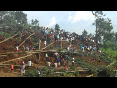 Ugandan 'tweeps' gather to help landslide victims