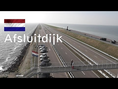 HOLLAND: Afsluitdijk / Enclosure Dam [HD]