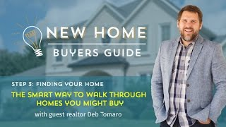 You've searched the web & driven by a hundred houses.  Now your realtor is walking your through your favorites.  This video will get you prepared to nail it.Friend of the channel, real estate guru Deb Tomaro, walks us through the most important things to consider and what not to worry about. Finding A Home is Step #3 in our New Home Buyers Guide.  Get our WALK THROUGH CHECKLIST, NEW HOME NEEDS ASSESSMENT, & OPTION ORGANIZER inside the guide: https://www.newhomebuyersguide.net (use the discount code: YOUTUBESUBSCRIBER to save 25%)How to find Deb Tomaro:http://www.realrealestatetoday.comLearn more about us at:Our Site -  https://www.shineinsurance.comOur Blog - https://www.shineinsure.com/blogOur Podcast - https://www.scratchentrepreneur.comOur Course - https://www.newhomebuyersguide.net
