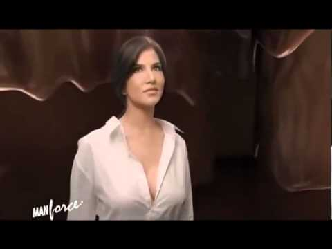 Sunny Leone Chocolate Flavoured Condom UNCENSORED Ad