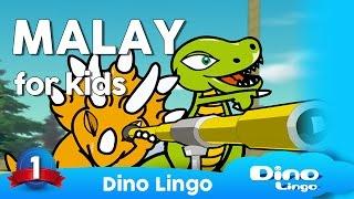 http://dinolingo.com/languages/malay.html Dino Lingo Malay for Kids is a Malay language learning program where cartoon dinosaur characters introduce the ...