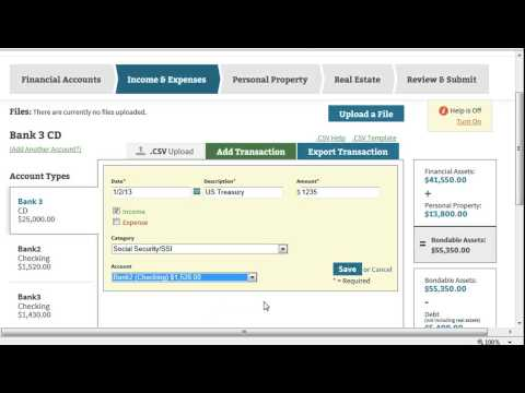 Annual Account overview and income and expense