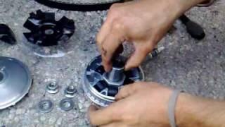 5. montage vario Malossi (ancienne référence !) SYM GTS 125