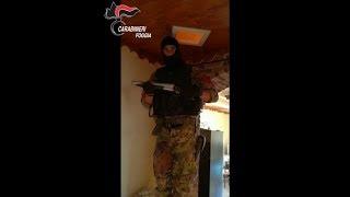 Foggia, nascondeva armi e droga nel controsoffitto: arrestato pregiudicato a San Marco in Lamis