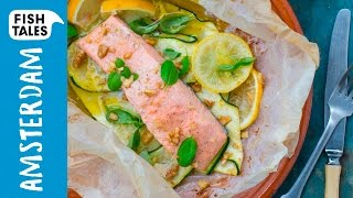 SALMON En Papillote | Bart's Fish Tales by Bart's Fish Tales
