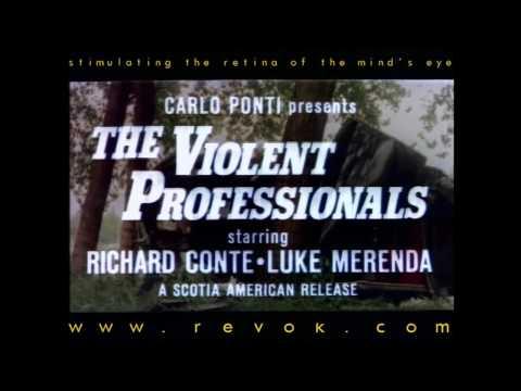 THE VIOLENT PROFESSIONALS (1973) Trailer for Sergio Martino's Eurocrime action with Luc Merenda