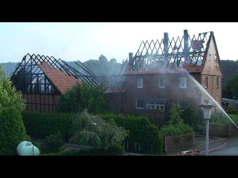 Dehausen: Bauernhof abgebrannt