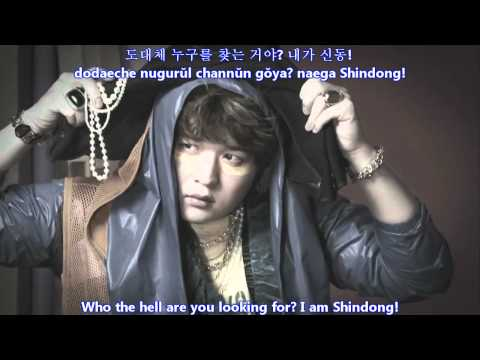 Super Junior - SUPERMAN MV [english subs + romanization + hangul]