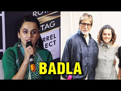 Badla: Taapsee Pannu REVEALS Her Role in the Amita