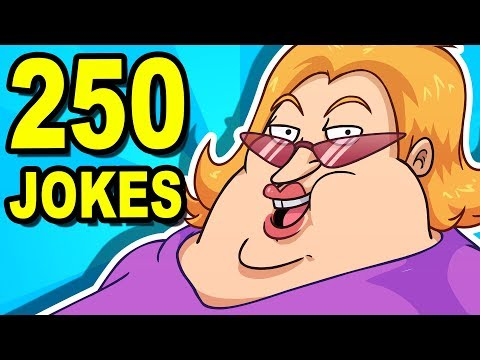 Video 250 JOKES - Can You Watch Them All? download in MP3, 3GP, MP4, WEBM, AVI, FLV January 2017