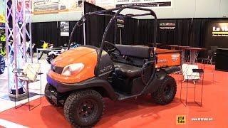 1. 2015 Kubota RTV 500 Utility ATV - Walkaround - 2014 St Hyacinthe ATV Ahow