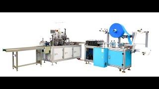 1 + 1 Automatic high speed servo mask machine,KF94 mask machine,KN95 mask machine youtube video
