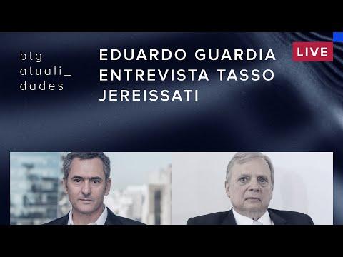 Eduardo Guardia entrevista Tasso Jereissati видео
