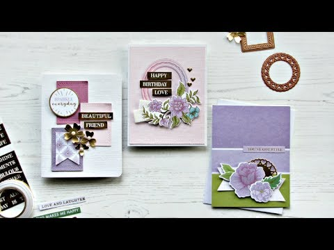 {Spellbinders} March 2018 Card Kit Of The Month Inspiration