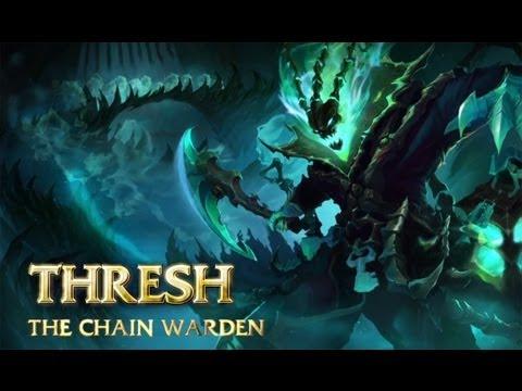 Champion-Spotlight: Thresh, der Kettenwächter