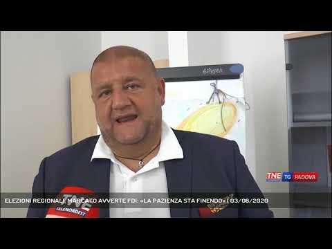 ELEZIONI REGIONALI, MARCATO AVVERTE FDI: «LA PAZIENZA STA FINENDO» | 03/08/2020