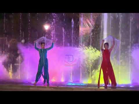 Nhạc Nước Tại Lễ Hội Hoa Tam Giác Mạch TP Hà Giang 2020
