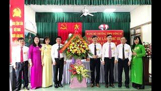 Đại hội Đảng bộ Trường THPT Uông Bí lần thứ III, nhiệm kỳ 2020-2025