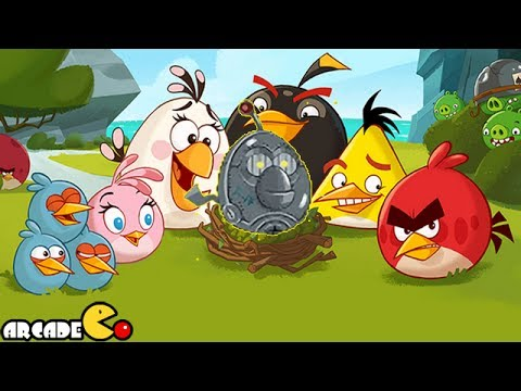 Naughty Angry Birds Stella Vs Bad Piggies Gameplay Walkthrough Part 4