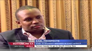 Bottomline East Africa 29th January 2016 -  East African Breweries eyes bigger market-size
