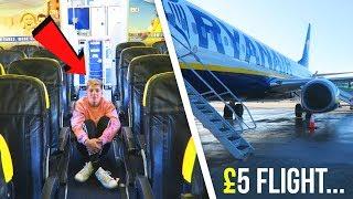 Video I went on The CHEAPEST Flight in THE WORLD (only £5...) MP3, 3GP, MP4, WEBM, AVI, FLV September 2018