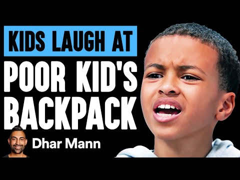 Kids LAUGH AT POOR BOY'S Backpack, They Live To Regret It | Dhar Mann