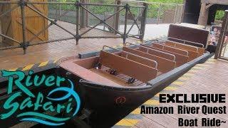 Video [EXCLUSIVE] Ride On River Safari Amazon River Quest! MP3, 3GP, MP4, WEBM, AVI, FLV Juli 2018