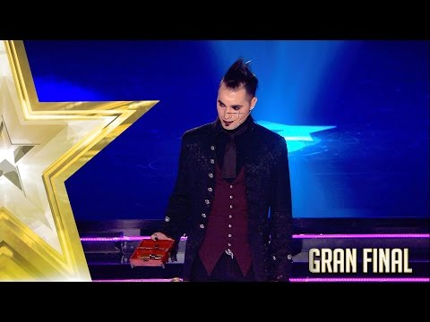 Acheron logra abrir el candado pero no convence | Gran Final | Got Talent España 2017