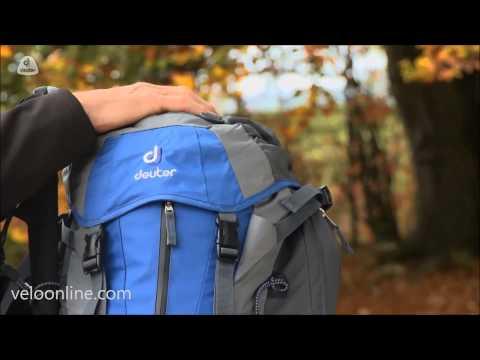 Видео о Велосипедный рюкзак Deuter FUTURA 28 5520 fire-cranberry