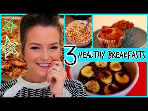 Healthy Habits: 3 of My Go To Recipes for Breakfast
