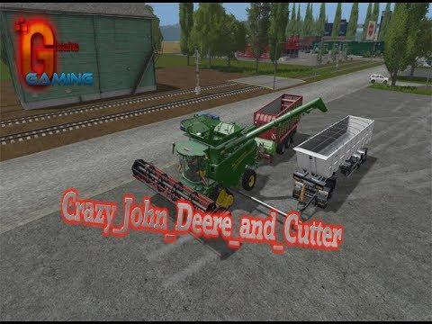 Crazy John Deere and Cutter v1.0