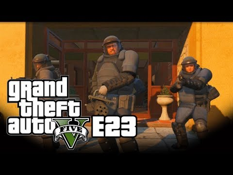 Grand Theft Auto V - Singleplayer - E23 - Tripple Chaos