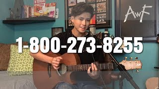 Video Logic - 1-800-273-8255 ft. Alessia Cara & Khalid - Cover (Vocal/Fingerstyle) MP3, 3GP, MP4, WEBM, AVI, FLV Agustus 2018