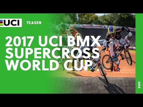2017 UCI BMX Supercross World Cup - Teaser (видео)