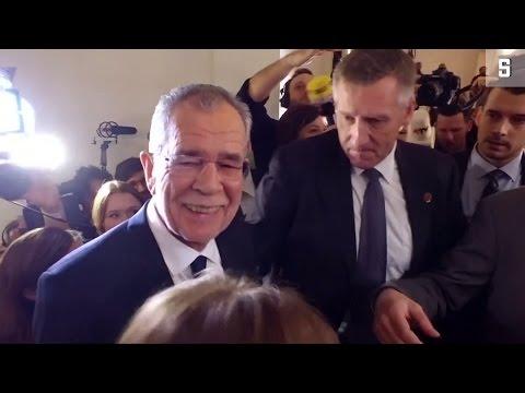 Präsidentenwahl in Österreich: Sieg für Van der Bel ...