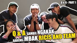 Video Q & A Pertama bareng Ricis & Team Team di Bali (Part. 1) MP3, 3GP, MP4, WEBM, AVI, FLV Juni 2019