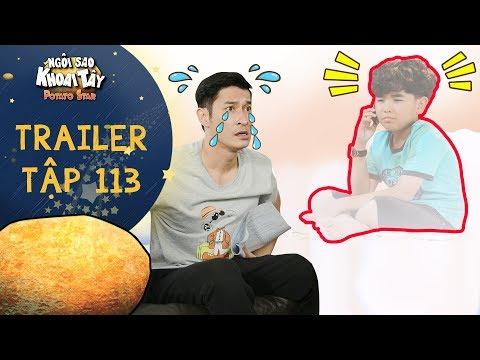 Ngôi sao khoai tây|trailer tập 113: Trần Sơn hối hận không kịp khi con bỏ đi vì tính sân si của mình - Thời lượng: 2 phút, 13 giây.