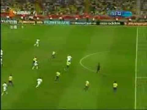 Brazil Vs France – Fifa World Cup 2006 – Zidane Skill