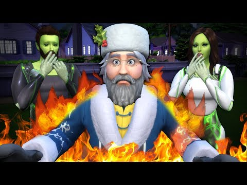 HAPPYISH HOLIDAYS - The Sims 4 Funny Highlights #143