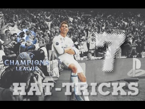 Cristiano Ronaldo - All 7 Hat-Tricks In Champions League - 2012/2017 HD