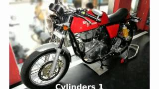 3. 2014 Royal Enfield Continental GT Cafe Racer -  motorbike Transmission