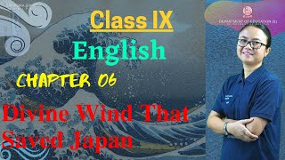 Class IX English Chapter 6: Divine wind that saved Japan