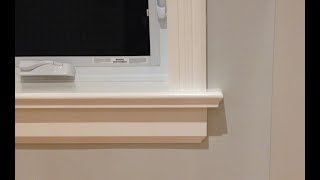 Video How to Make Window Sills & Apron | Woodworking MP3, 3GP, MP4, WEBM, AVI, FLV Agustus 2019