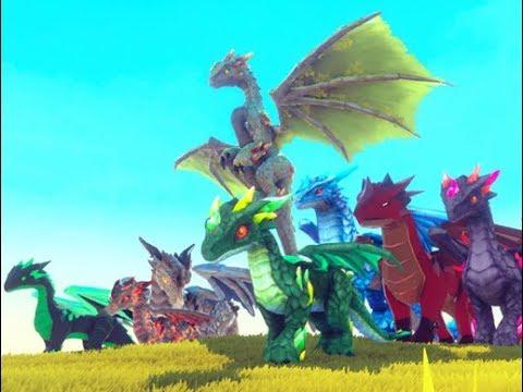 Elemental Dragon for Unity