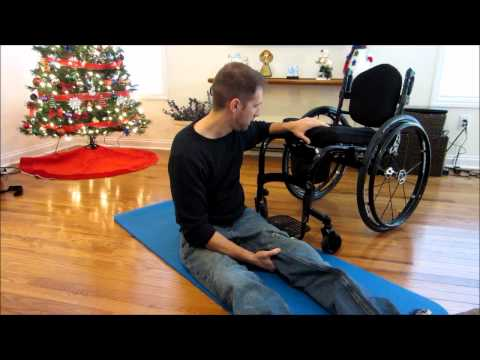 Paraplegic Floor Transfer