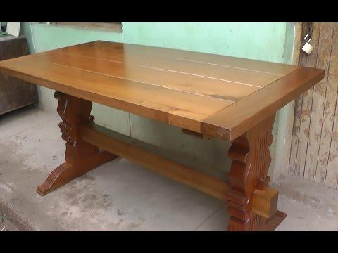 Carpinteria facil for Hacer una mesa con una puerta