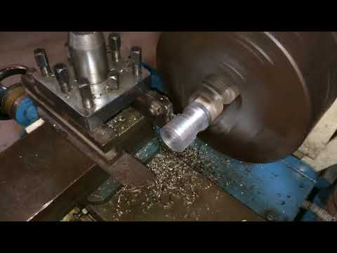 Lathe machine operation Facing, Turning, Grooving and knurling