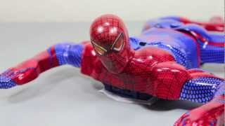 The Amazing Spider-man Movie R/C Speed Climbing Spider-man Toy Review